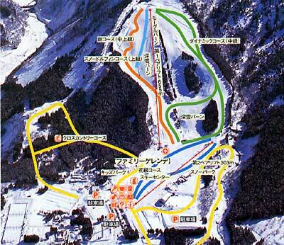 Awasuno Piste / Trail Map