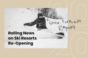 Snow-Forecast's Rolling News on Ski Resorts Re-Opening (2020)